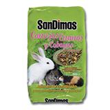 Alimento completo para conejos y cobayas.
