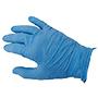 Guants sigal vinil sense pols gr azul.
