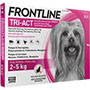 Frontline tri-act 2-5 kg.