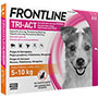 Frontline tri-act 5-10 kg.