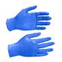 Guants beholi nitril sense pols gr blau.
