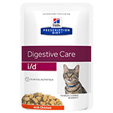 Hills feline digestive care