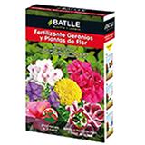 Batlle fertilitzant geranis i plantes de flor