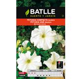 Batlle petunia compacta blanca bossa