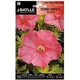 Batlle petunia compacta rosa pur