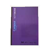 Cuaderno campus A4 cuadriculada 90g 40 hojas 12003
