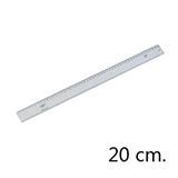 Regla campus aluminio 20cm