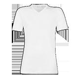 Samarreta cotonella 8405 coll pico t5/50 blanca.