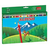 Colores alpino madera largos 30u