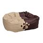 Bressol per a gossos encoixinada donut xocolata 66X50X27 cm.