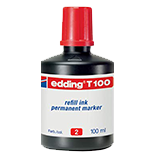 Tinta edding t100 roja