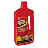 Zum netejaterres amb insecticida