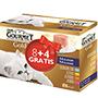 Gourmet gold pack 8+4 85g 4 sabors 12338250.