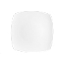 Stilo plat postre 20cm blanc 002551