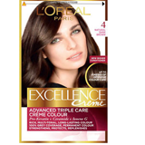 L'Oreal excellence tint 4.