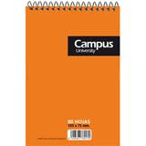 Bloque espiral Campus A7 cuadriculado 80 hojas