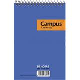 Bloque espiral Campus A6 cuadriculado 80 hojas