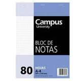 Bloc notas Campus A4 cuadriculado 60g 80 hojas
