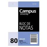 Bloc notas Campus A6 liso 60g 80 hojas