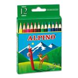 Colores alpino madera cortos 12u