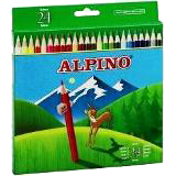 Colores alpino madera largos 24u