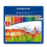 Colors staedtler madera caja metal 24u