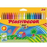 Colores plastidecor 24 unidades 122304