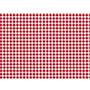 Rollo adhesivo vichy rojo 71437
