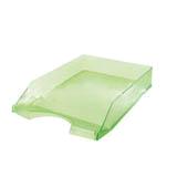 Safata plàstic sobretaula frosted verd 0190