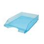 Safata plàstic sobretaula frosted blava 0190.
