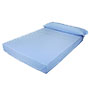 Trovador funda almohada cama 90 celeste.