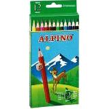 Colores alpino madera largos 12u