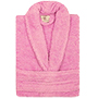 Albornoz infantil con capucha calypso 400 t4 19 rosa.