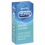 Durex natural confort.