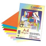 Paquete 100 hojas Din A4 80g 10 colores