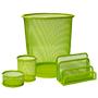 Set rejilla 4 piezas verde