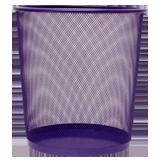 Paperera reixa 27cm violeta 183443.