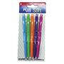 Bolígrafo plus office soft colores 5 unidades 0003