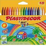 Colores plastidecor 18 unidades 122303