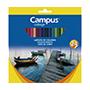Colores campus madera hexagonales 24u