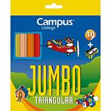 Colores campus jumbo triangulares 10 unidades
