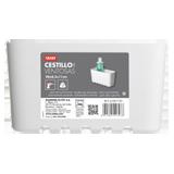 Cistella estàndard petita blanca 45201.