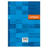 Recanvi Campus A4 quadriculat 90g blau 100 fulls
