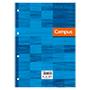 Recambio Campus A4 cuadriculado 90g azul 100 hojas