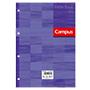 Recambio Campus A4 cuadriculado 90g lila 100 hojas