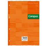 Recambio Campus A4 cuadriculado 90g naranja 100H