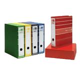 Archivador liderpapel + caja A4 80 negro