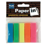 Notes adhesives Plus 5 banderetes 100u