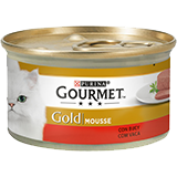 Gourmet Gold Mousse Bou