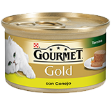 Gourmet gold terrina conejo